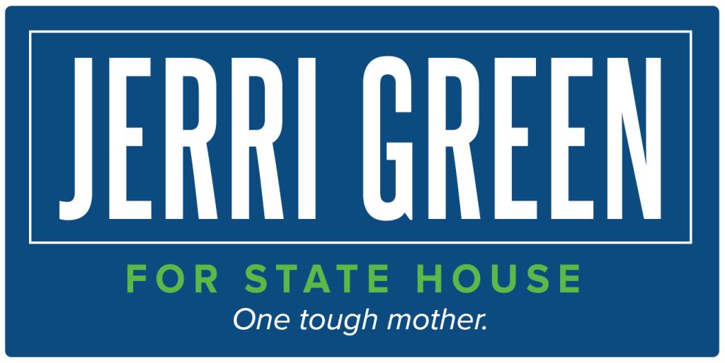 Jerri Green Campaign sign